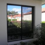 Mirror film on home office in Buderim
